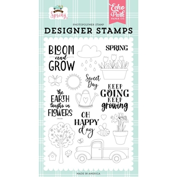 Echo Park SWEET DAY Clear Stamps wes235043
