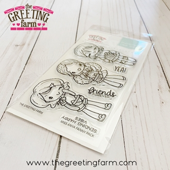 The Greeting Farm FANNY PACK Clear Stamps tgf574