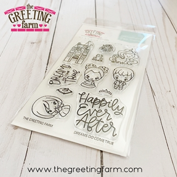 The Greeting Farm DREAMS DO COME TRUE Clear Stamps tgf576