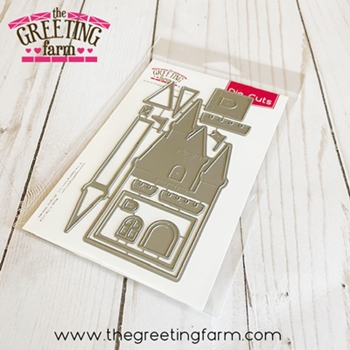 The Greeting Farm MAGIC CASTLE Die Set tgf577