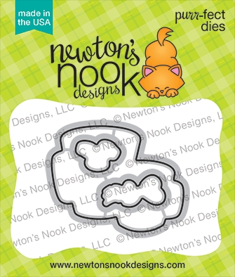 Newton's Nook Designs LOVE CAFE Dies NN2101D02 Preview Image