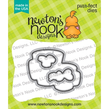 Newton's Nook Designs LOVE CAFE Dies NN2101D02