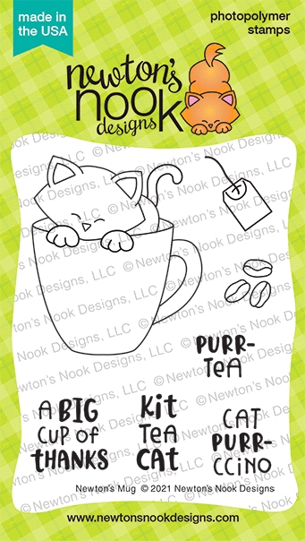 Newton's Nook Designs NEWTON'S MUG Clear Stamps NN2101S01 zoom image