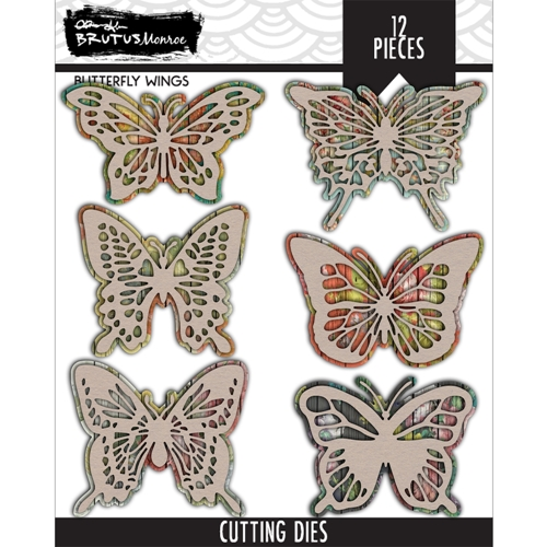 Brutus Monroe BUTTERFLY WINGS Dies bru2525 Preview Image