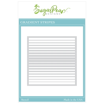 SugarPea Designs GRADIENT STRIPES Stencil spd00504