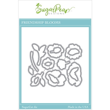 SugarPea Designs FRIENDSHIP BLOOMS SugarCuts Dies spd00502
