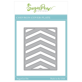 SugarPea Designs CHEVRON COVERPLATE SugarCuts Die spd00500