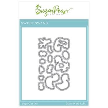 SugarPea Designs SWEET SWANS SugarCuts Dies spd00491