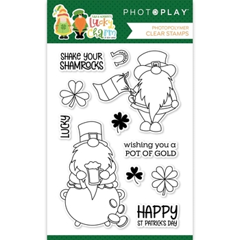PhotoPlay LUCKY CHARM Clear Stamps lky2576