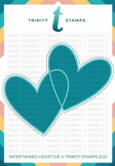 Trinity Stamps INTERTWINED HEART Die Set tmd058