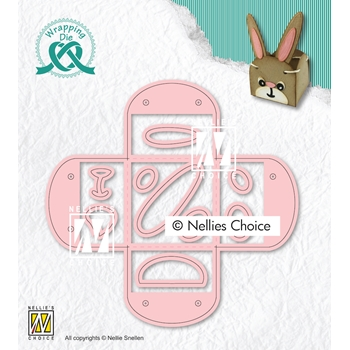 Nellie's Choice EGG CUP Wrapping Dies wpd014*