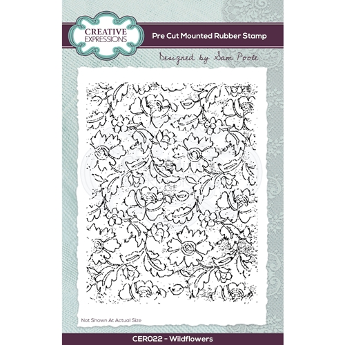 Creative Expressions WILDFLOWERS Cling Stamp cer022 Preview Image