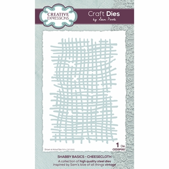 Creative Expressions CHEESECLOTH Die cedsp002