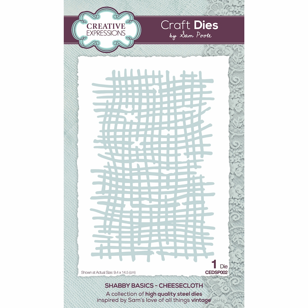 Creative Expressions CHEESECLOTH Die cedsp002 zoom image