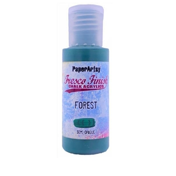 Paper Artsy Fresco Finish FOREST Chalk Acrylic Paint ff194