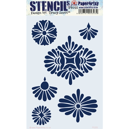 Paper Artsy TRACY SCOTT Large Stencil ps225 Preview Image