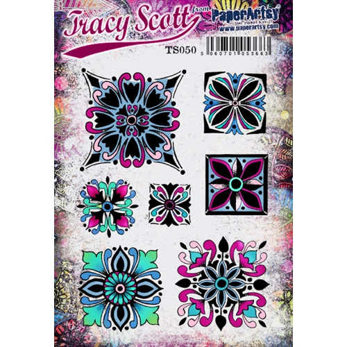 Paper Artsy TRACY SCOTT 50 Cling Stamp ts050 Preview Image