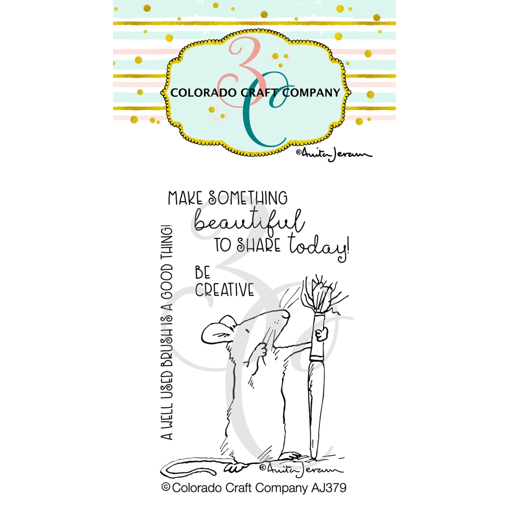 Colorado Craft Company Be Creative Clear Stamp