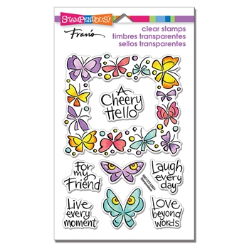Stampendous Clear Stamps WINGED FRAME ssc1372