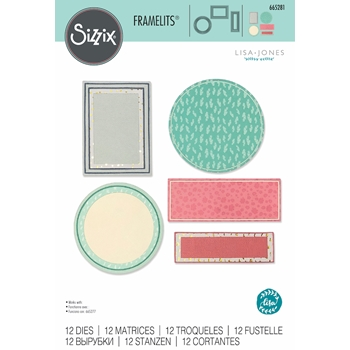 Sizzix FRAMES AND BORDERS Framelits Dies 665281