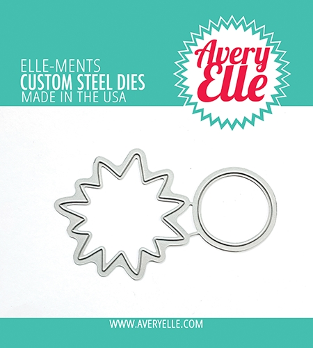 Avery Elle Steel Dies SUNSHINE  D 21 10 Preview Image