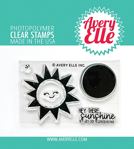 Avery Elle Clear Stamps SUNSHINE ST 21 10 Preview Image