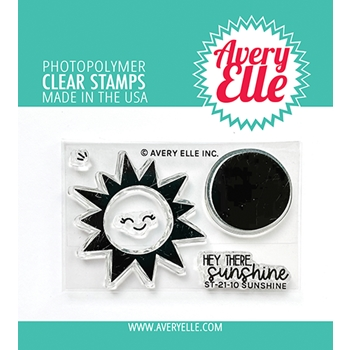 Avery Elle Clear Stamps SUNSHINE ST 21 10