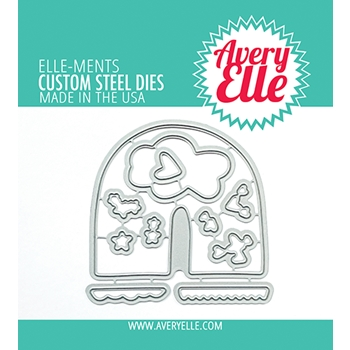Avery Elle Steel Dies RAINBOW BUILDER D 21 09