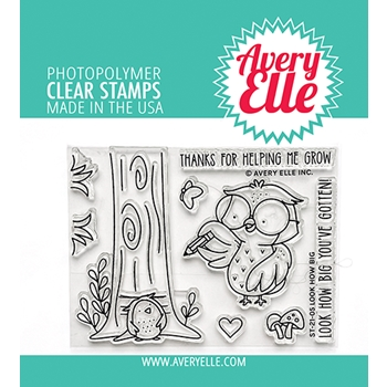 Avery Elle Clear Stamps LOOK HOW BIG ST 21 05