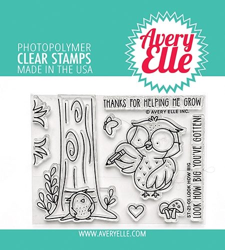 Avery Elle Clear Stamps LOOK HOW BIG ST 21 05 zoom image