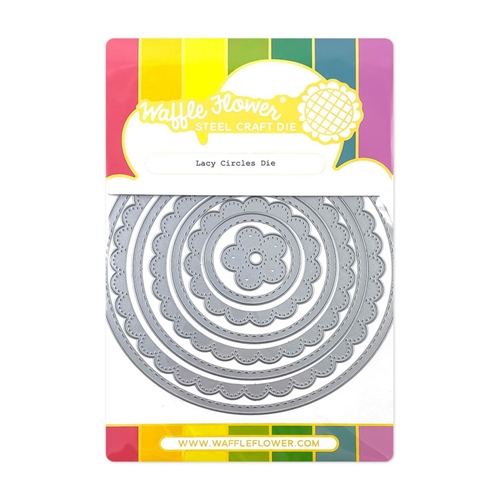 Waffle Flower LACY CIRCLES Dies 420496 Preview Image