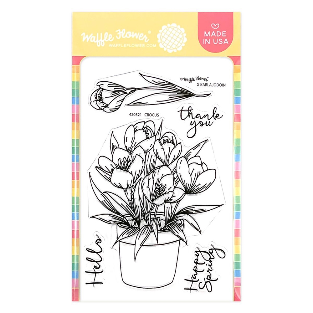 Waffle Flower CROCUS Clear Stamps 420521 zoom image