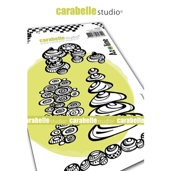 Carabelle Studio CAILLOUX BIJOUX Cling Stamps sa60524