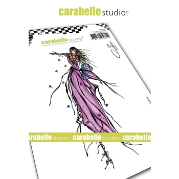Carabelle Studio THE FAIRY WITH VIOLIN Cling Stamp sa60530