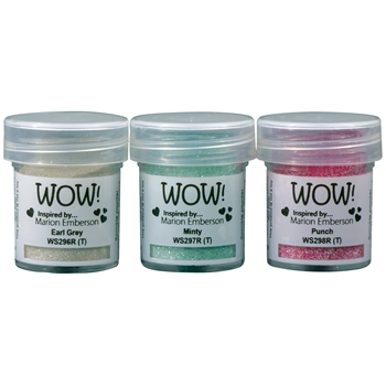 WOW Embossing Powder Trios PICK ME UP Set WOWKT041