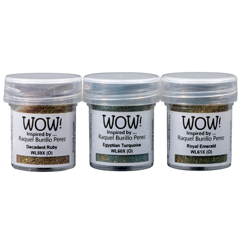 WOW Embossing Powder Trios ANCIENT JEWELS Set WOWKT040 Preview Image