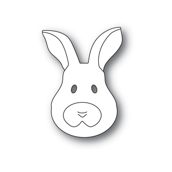 Memory Box BUNNY FACE Craft Die 94545*