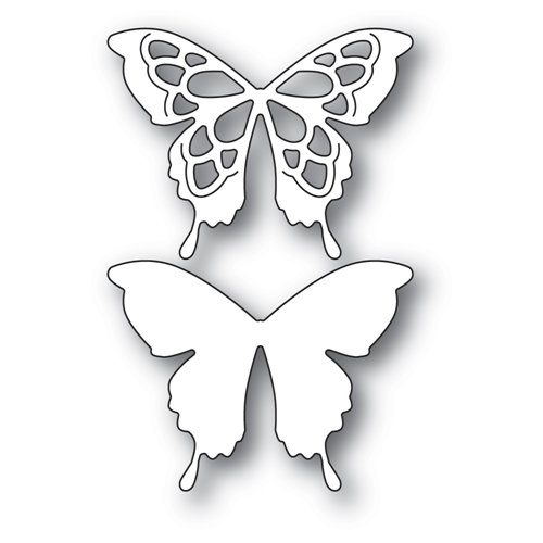 Memory Box GLADE BUTTERFLY Craft Dies 94578 Preview Image