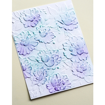 Memory Box BLOOMING 3D Embossing Folder EF1014