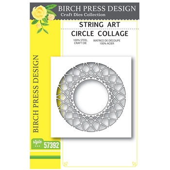 Birch Press Design STRING ART CIRCLE COLLAGE Craft Dies 57392
