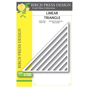 Birch Press Design LINEAR TRIANGLE Craft Dies 57393