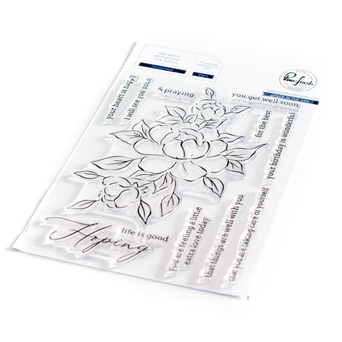 PinkFresh Studio CHOOSE HOPE Clear Stamp Set 104921 Preview Image