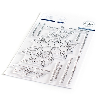 PinkFresh Studio CHOOSE HOPE Clear Stamp Set 104921