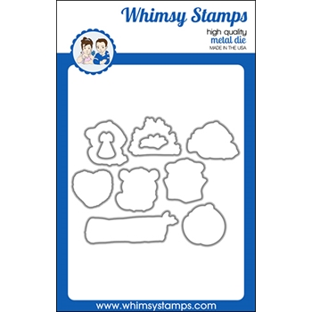 Whimsy Stamps OH DAM Dies WSD520