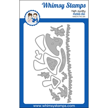 Whimsy Stamps BUILD A FAIRY GARDEN Dies WSD519