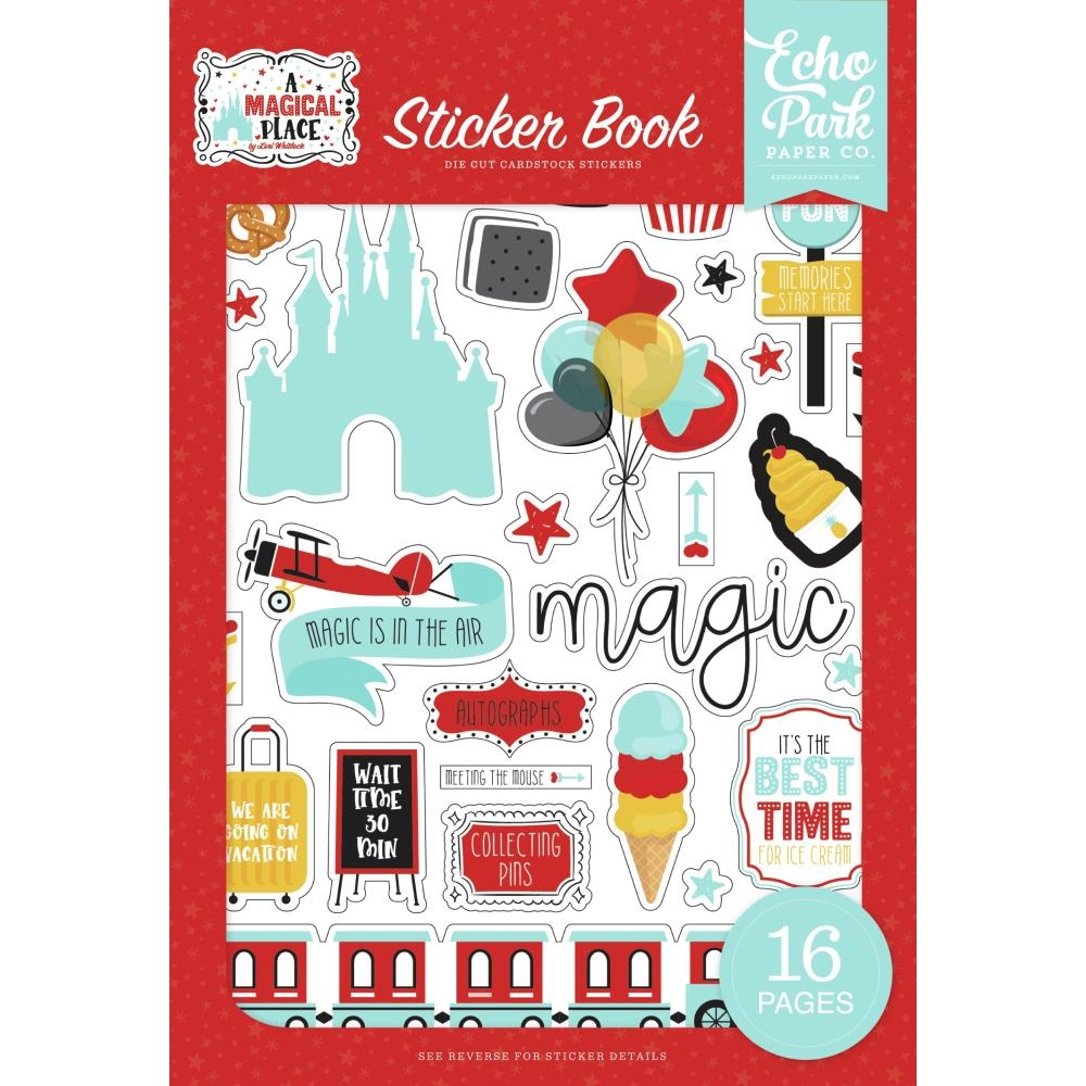 Echo Park A MAGICAL PLACE Sticker Book amp239029 zoom image
