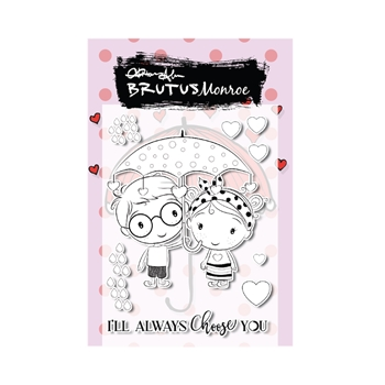 Brutus Monroe CHOOSE YOU Clear Stamps bru2198