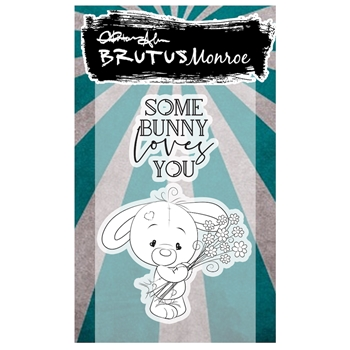 Brutus Monroe SOME BUNNY LOVES YOU Clear Stamps bru3317