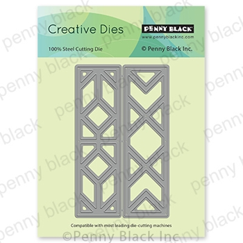 Penny Black GEOMETRIC FRAMES Thin Metal Creative Dies 51 649