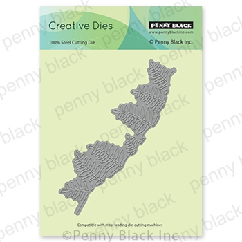 Penny Black FERN BORDER Thin Metal Creative Dies 51 639